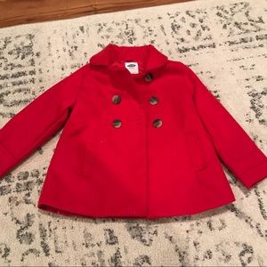 Toddler girls pea coat